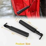 Foot Pegs for Jeep Wrangler JK and JKU 2007-2018 Black