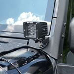 Four Row Cube Pod LED 3 Inches Auxiliary Lights Black