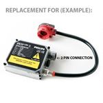 D2S D2R Replacement Ballast HID Xenon Controller 2