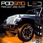 PODSMD Ultra Bright Expandable Rock LED Strips 4