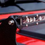 52 Inches LED Hood Mount Light Bar Kit for Jeep Wrangler JL 2018+