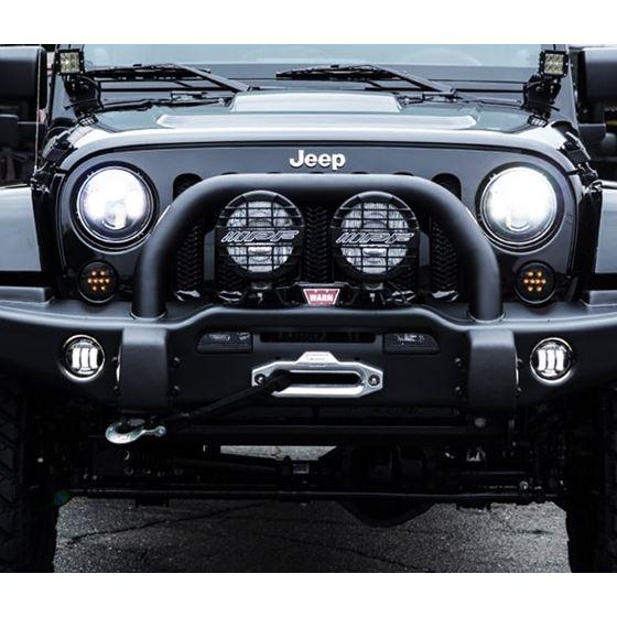 Jeep Wrangler Fog Lights >> Genssi Led Fog Lights For 07 16 Jeep Wrangler Jk Front Bumper Lamp