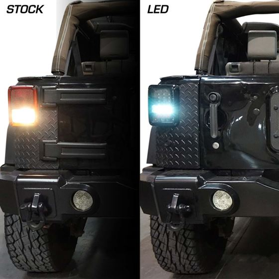 BLACK LED TAIL LIGHTS 2
