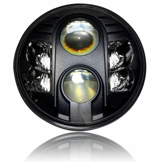 APOLLO Black Projector LED Headlights for Wrangler JL Gladiator 2018+