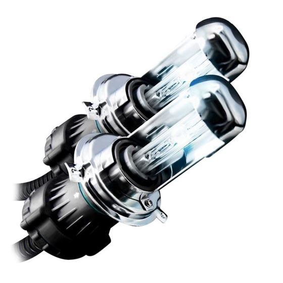 Bi-Xenon HID Xenon Performance Bulbs with Wire Harness Set H3