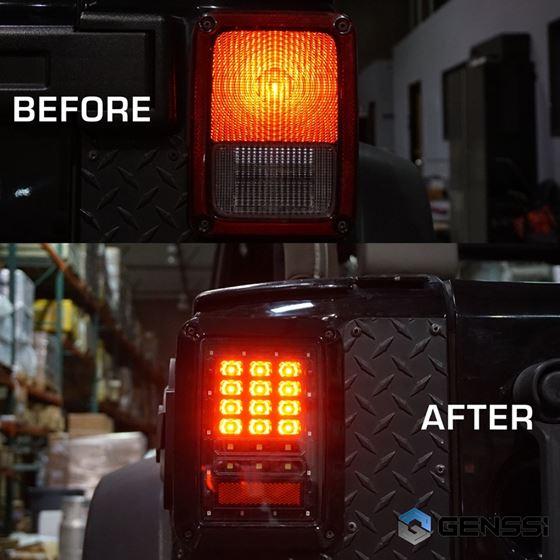 BLACK LED TAIL LIGHTS 4