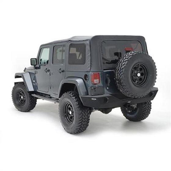 XRC Armor Rear Bumper with Hitch for Wrangler JK 2007-2018
