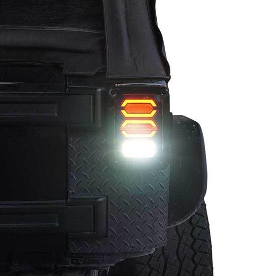DIAMOND Black LED Tail Lights 4