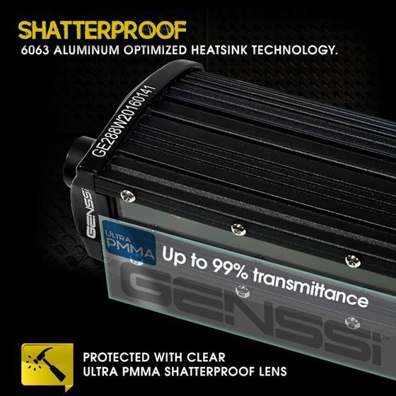 3D Slim Low Profile LED Light Bar 4