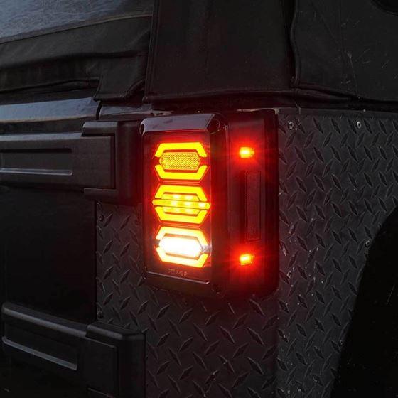 DIAMOND Black LED Tail Lights 2
