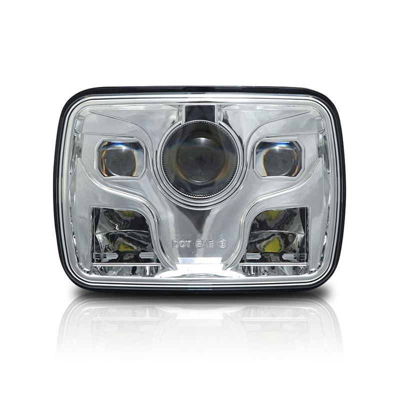 GENSSI 7X6 H6054 200MM LED PROJECTOR HEAD LIGHT DO