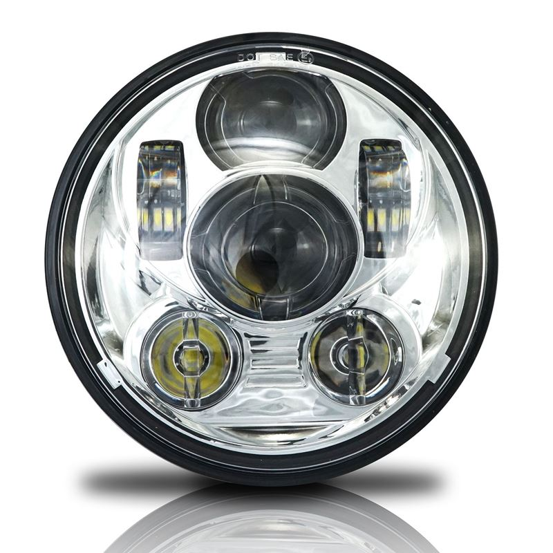GENSSI 5.75 (5 3/4) IN LED PROJECTOR HEADLIGHT ROU
