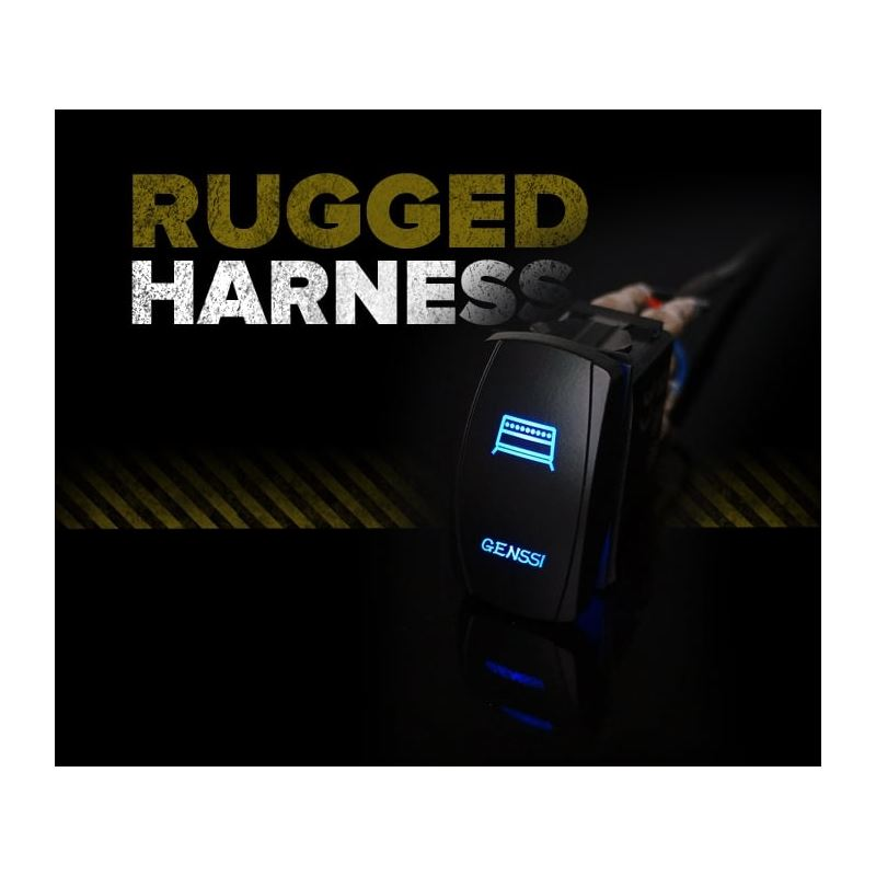 Rugged Series Harness  LED Switch