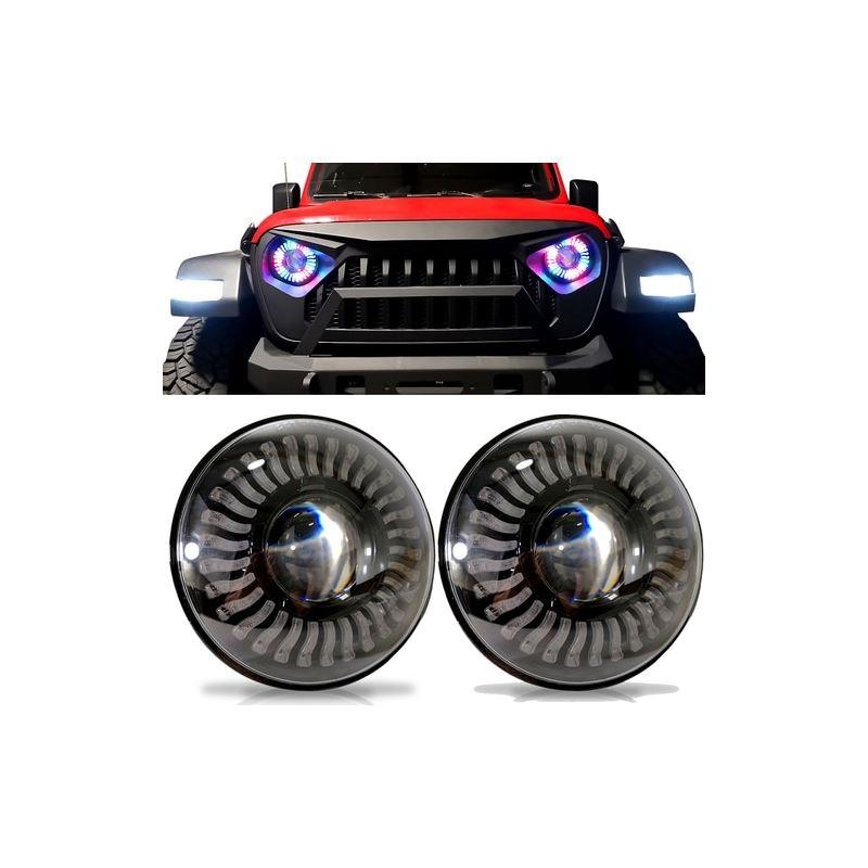 Demon Eye LED Headlights for Wrangler JL  Gladiato