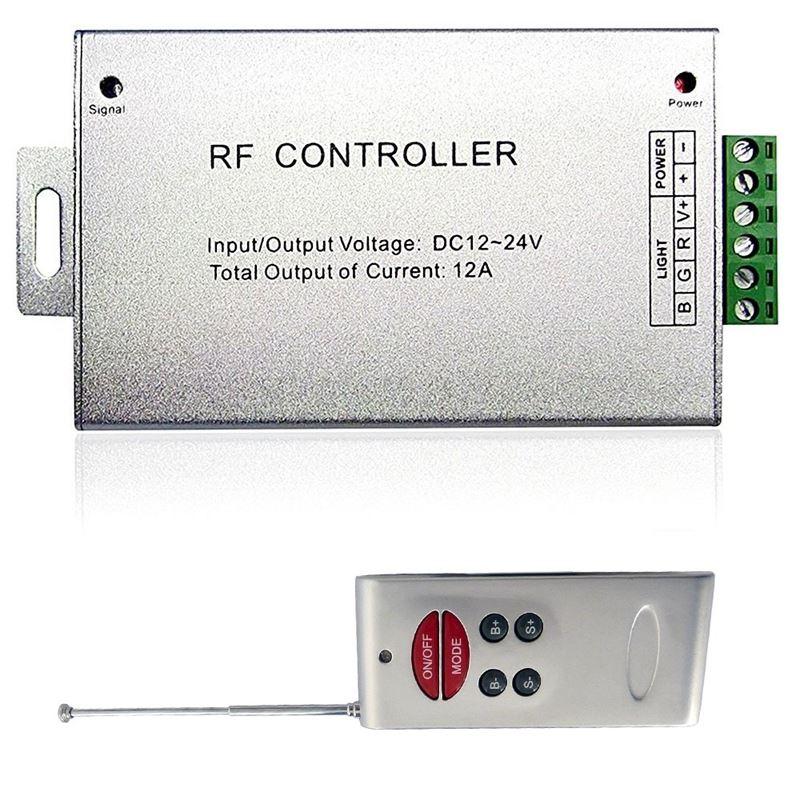 LED Strip RGB Controller RF Wireless w/Music